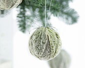 Christmas Ornaments - Christmas Tree Ornaments - Handmade Christmas Ornaments - Natural Christmas Home Decor - Holiday Ornaments - Christmas