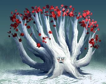 Tree Series: Weirwood - Limited Edition Print