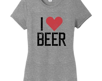 I love beer women 39 s t shirt beer tshirt drinking for I love beer t shirt