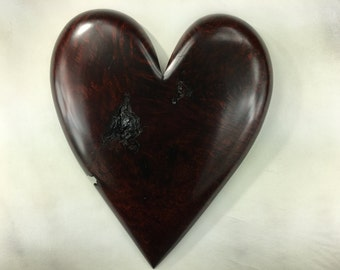 On HoLD FoR ShAnnON-NoT FoR SalE-Brown heart special wood Christmas gift personalized wooden heart Anniversary present