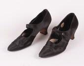 Womens Antique Satin Heels