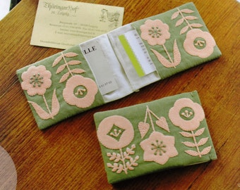 "Yumiko Higuchi's Embroidery Kit with Handmade Book Tezukuri Techo(Japanese Quarterly Craft Magazine) vol.12 ""FLOWER MOTIF"""