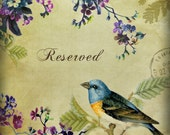 RESERVED for Savannah