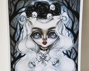 Morgana 8x10 Art Print