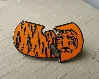 Wu-Tang Tiger Style Hat/Lapel pin