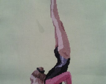 Gymnast Cross-Stitch Eythora Thorsdottir (NED)
