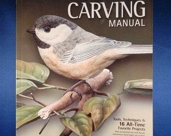 Power Carving Manual Wood Carving Book - Used, by Woodcarving Illustrated