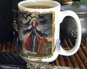 The Morrigan 15 oz coffee mug