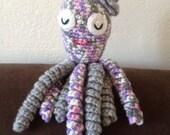 Crochet Octopus for Preemie Babies, Crochet Octopus Preemie Baby Comfort Toy, Therapeutic Octopus, Newborn Octopus