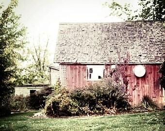 Red Barn Picture, Red Barn Photograph, Barn Print, Farmhouse Decor, Farmhouse Style Decor, Rustic Home Decor, Country Home Decor, Barn Art