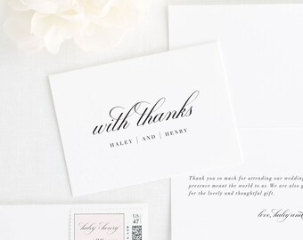 Haley Thank You Cards