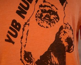 "Star Wars Ewok shirt - Unisex Star Wars Shirt - Ewok Shirt ""yub nub"""