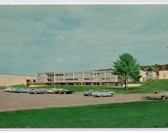 Torrington High School Connecticut 1960s postcard