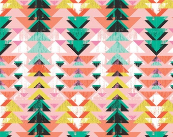 Blend Fabric's, Tropical Paradise Direction (Pink) 1 yard