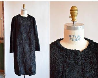30% OFF storewide // Vintage 1960s MOD faux fur coat