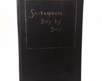 Vintage Amazing Shakespeare Handwritten Book Merchant Of Venice