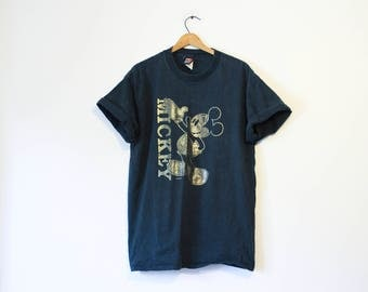 Vintage Walt Disney World Mickey Mouse T Shirt