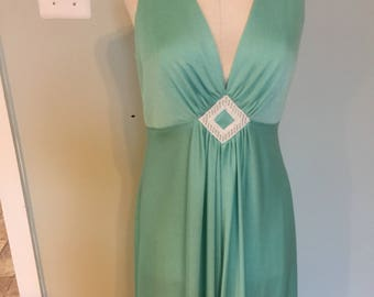 Vintage 70's Prom/Long gown Dress