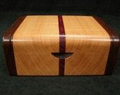 Wooden Ring Box, Jewelry Box