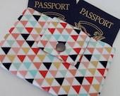 Dollbirdies Small Deluxe Passport Wallet, Passport Cover, Travel Wallet, Passport