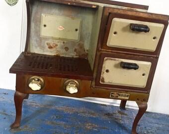 Vintage Stove, Empire Stove, Salesman's Sample, Toy Stove, Metal Stove, Vintage Kitchen