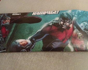 Comic Book Wallet - Nightwing and Robin