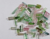60 cts lot mixed Tourmaline rough crystal specimen Afghanistan