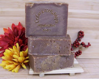 Patchouli Vanilla Soap Hemp Cold Processed Soap Vegan Patchouli Soap