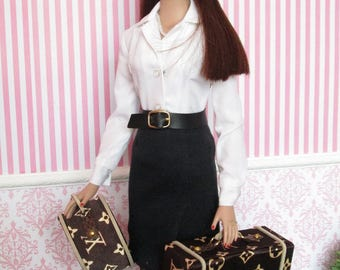 LOUIS VUITTON for Tyler Wentworth-Sydney Chase-Gene Marshall-Violet Waters - Faux - Replica - Fake Louis Vuitton