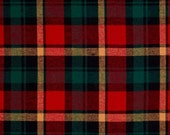 RESERVED- Plaid Flannel Princess Cut Circle Skirt High Waist With Pockets