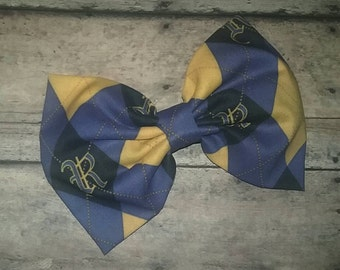 Harry Potter Ravenclaw Fabric Bow 5.5 Inches