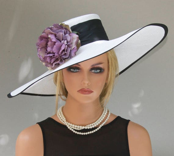 Wedding Hat, Derby Hat, Formal Hat, Church Hat, Dressy Hat, Kentucky Derby Hat Garden Party Hat Tea Party Hat, Dressy Hat, big hat