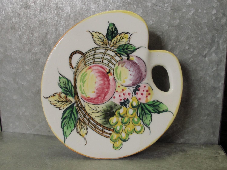 Vintage floral ceramic vase artists palette fruit still zoom reviewsmspy