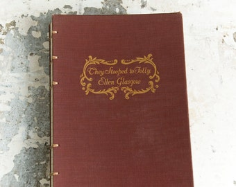 1929 FOLLY Vintage Lined Notebook Journal