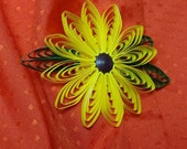 Yellow Sunflower Pin