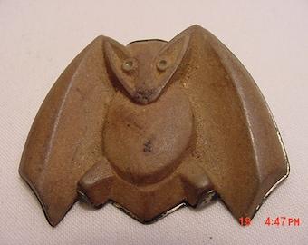 VintageF D Lapidin & Sterling Vampire Bat Brooch   16 - 561