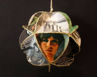 Sonny And Cher Album Cover Ornament Made Of Record Jackets