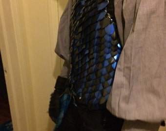 Scale armor vest