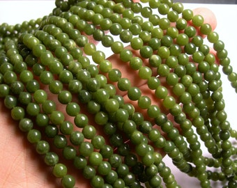Jade -  6mm - round  - A quality - 64  beads - full strand - RFG1098