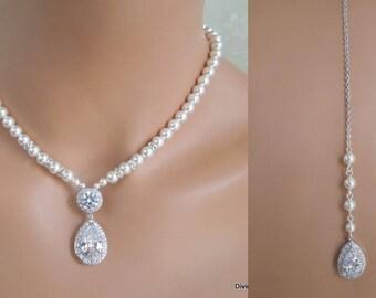 Bridal necklace etsy junglespirit Images