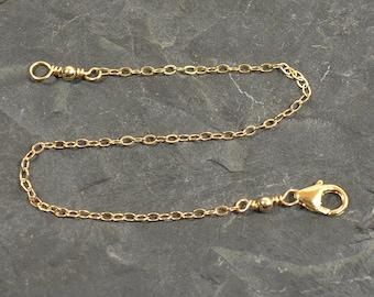"""Gold Filled - 8"""" Necklace Extender"""