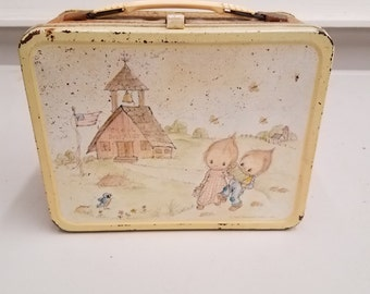 Vintage 1975 Hallmark Betsy Clark Metal Lunchbox and Thermos