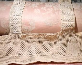 Vintage Lace Crochet Lingerie Top