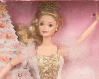 Barbie as the Sugar Plum Fairy, Never been out of the box,MINT Beautiful gown, Blond hair in an upswept hair do, Blue eyes, Ballet Barbie