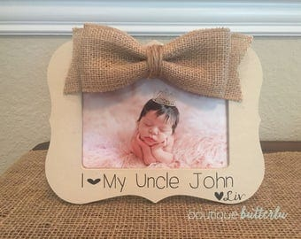 uncle gift uncle picture frame uncle brother godfather gift frame great uncle personalized 4x6 picture frame for uncle i love my uncle frame