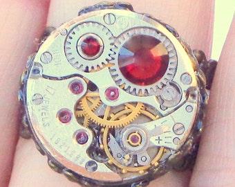 Steampunk, Neo Victorian Ring