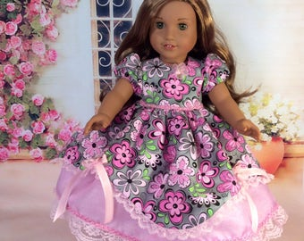 Spring Dress for American Girl 18 Inch Doll