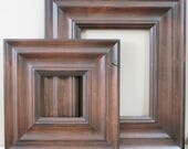 Sizes 8x10 to 12x12 Picture Frame / Knotty Alder Wood / Madera Style