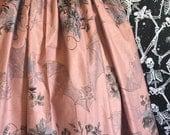 Bats and roses Elastic Skirt