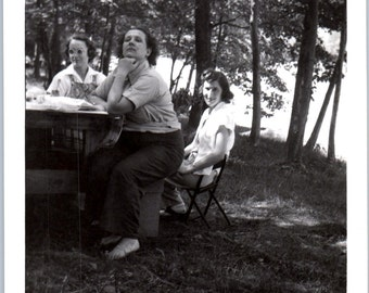 Vintage Photo - Ladies With Some Attitude - Vernacular, Found Photo (B)